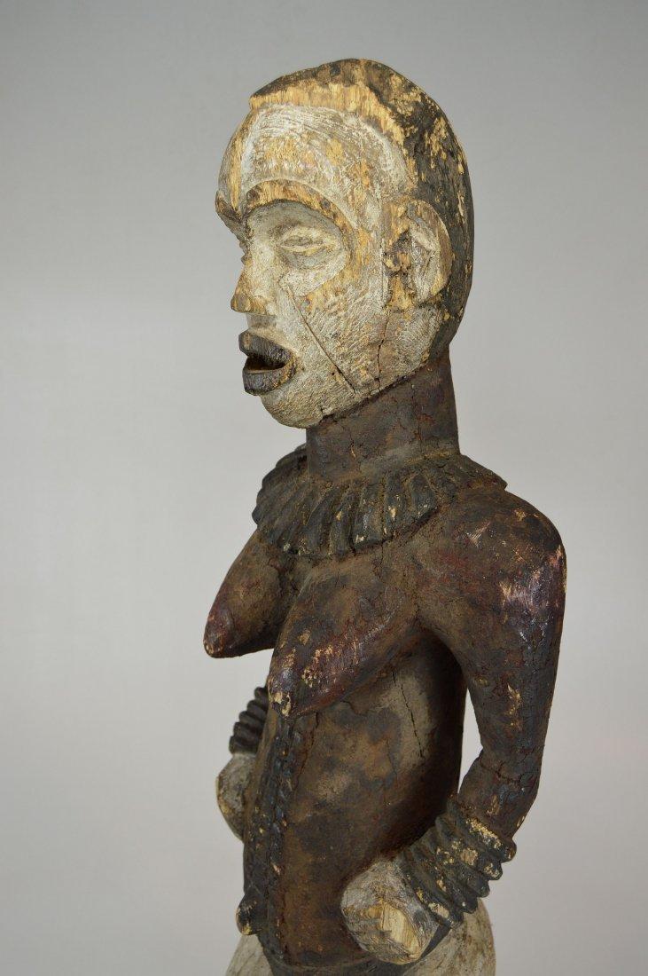 Large Old Idoma Anjenu Ancestor sculpture, African Art - 7