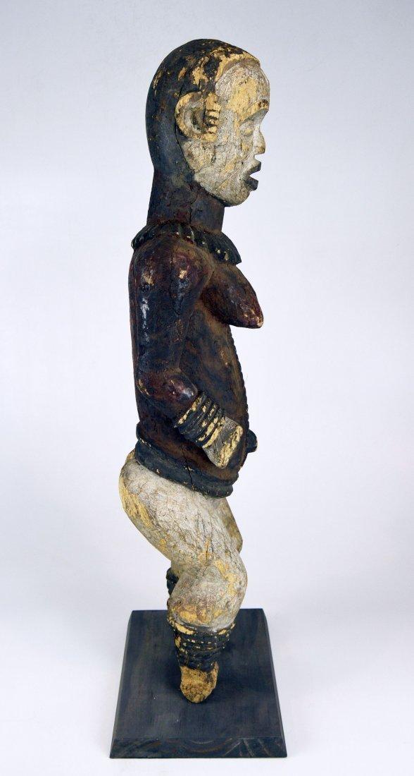 Large Old Idoma Anjenu Ancestor sculpture, African Art - 9