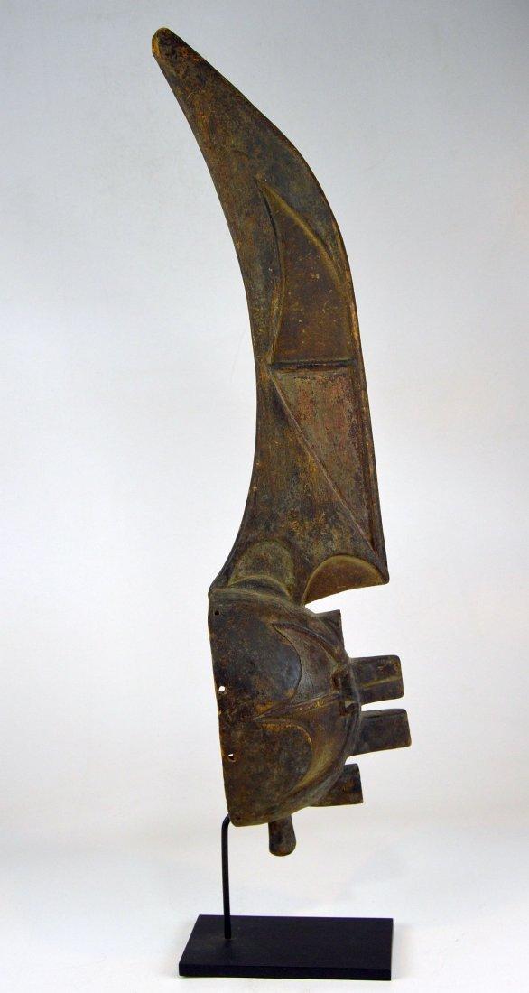 Rare Afikpo Yam harvest mask, African Art - 2