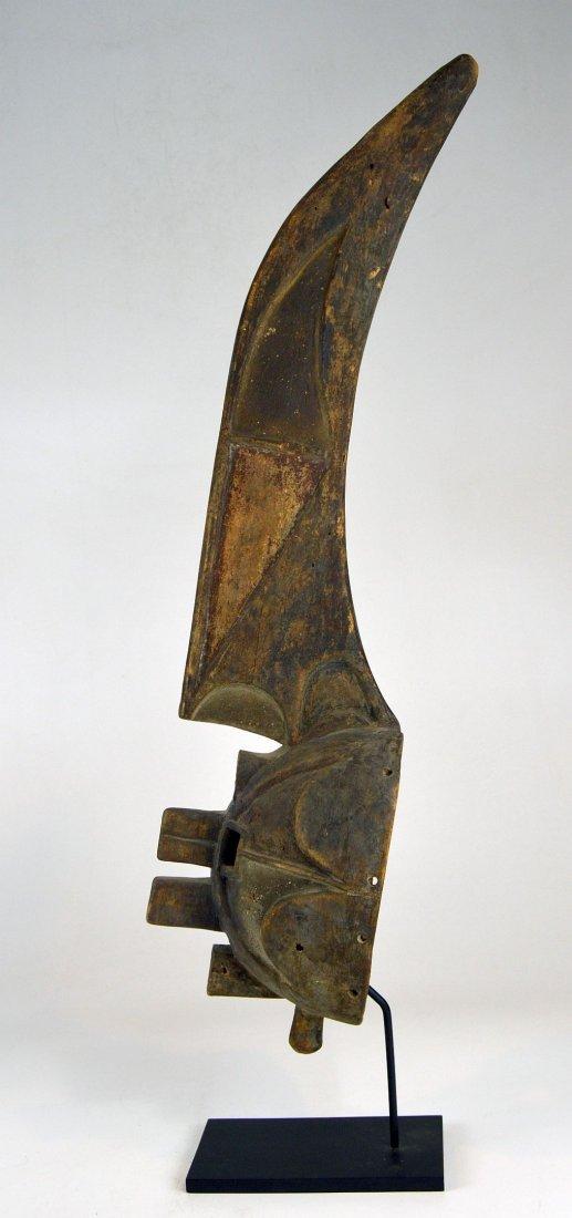 Rare Afikpo Yam harvest mask, African Art - 4