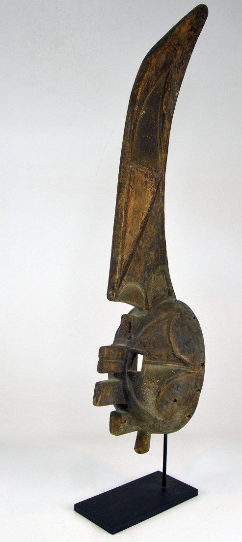 Rare Afikpo Yam harvest mask, African Art - 5