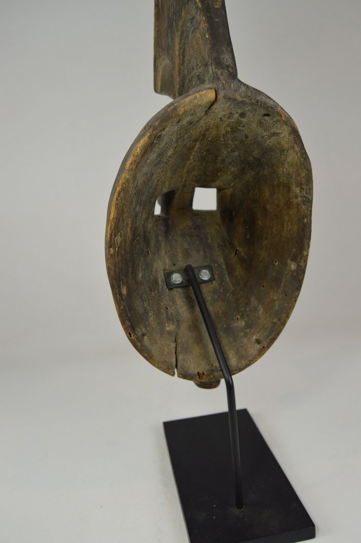 Rare Afikpo Yam harvest mask, African Art - 6