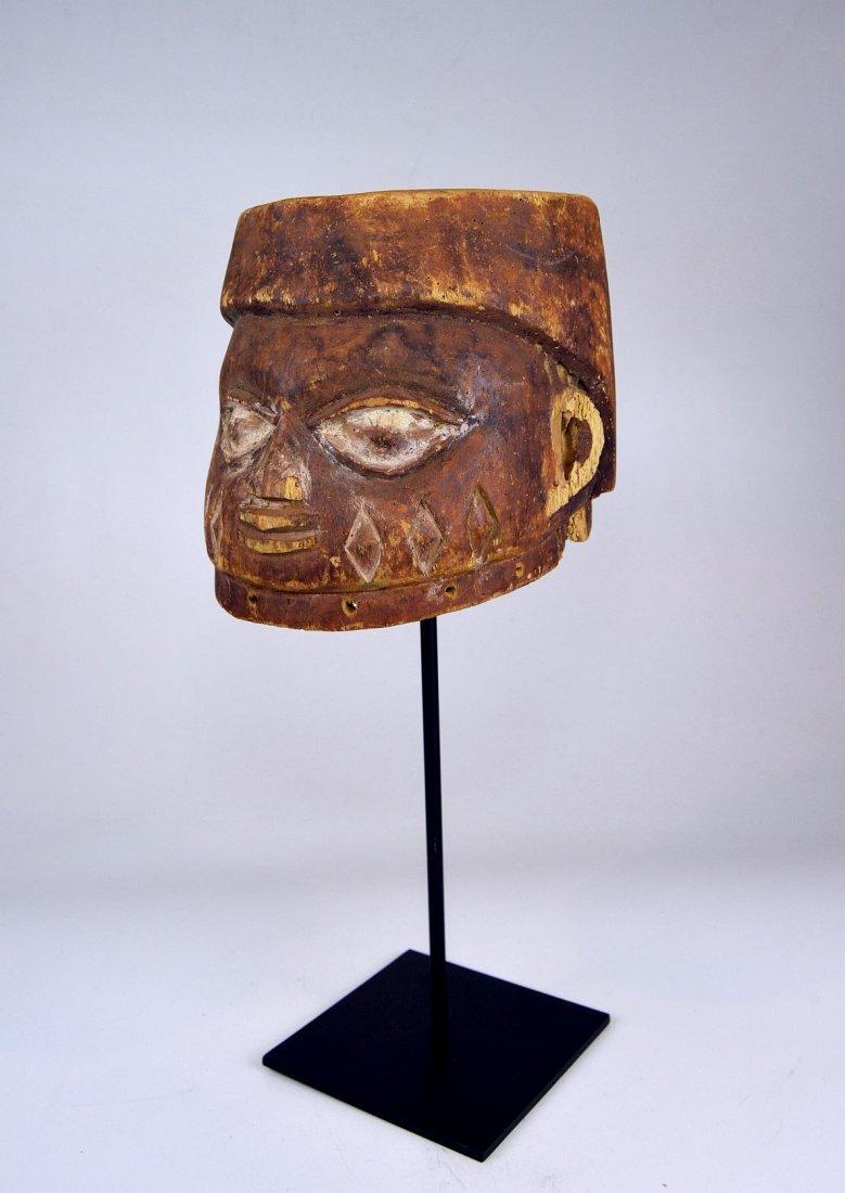 Well weathered old Yoruba Gelede Dance mask African Art - 2