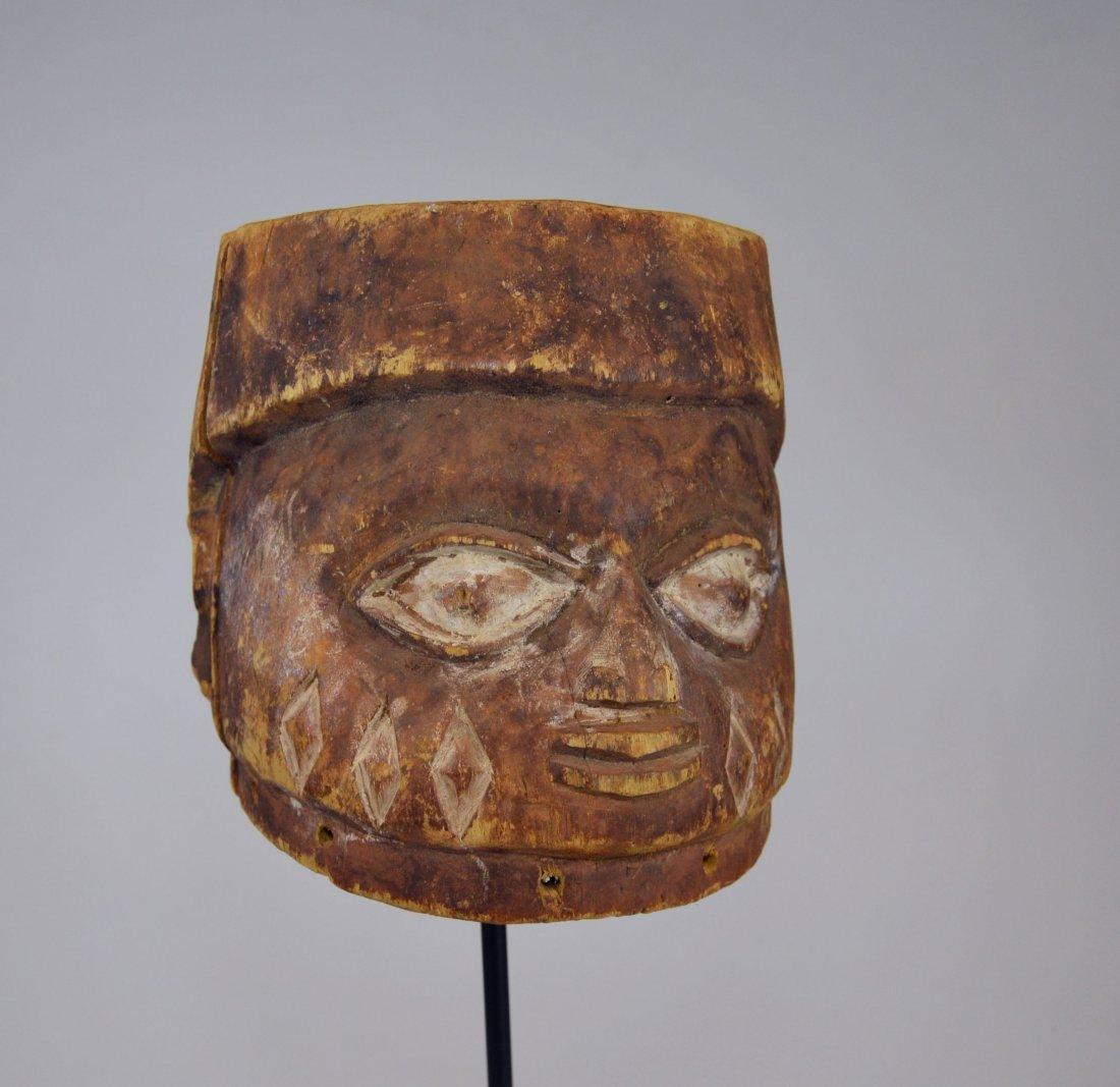 Well weathered old Yoruba Gelede Dance mask African Art - 3