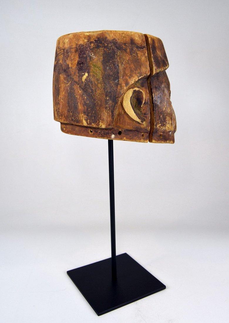 Well weathered old Yoruba Gelede Dance mask African Art - 5