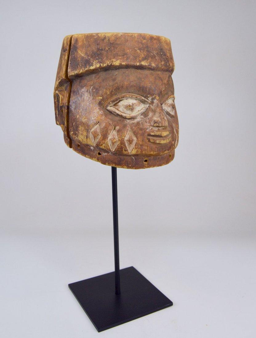 Well weathered old Yoruba Gelede Dance mask African Art - 6