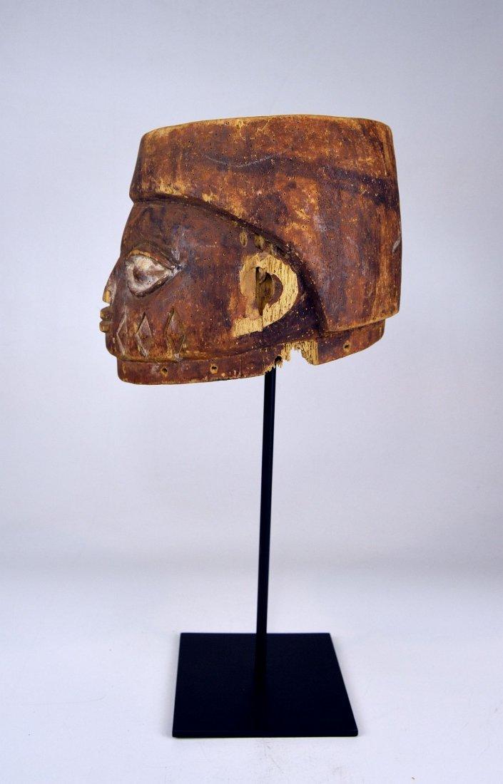 Well weathered old Yoruba Gelede Dance mask African Art - 7