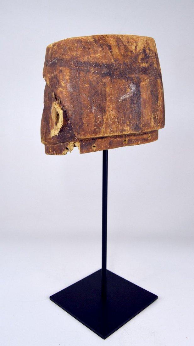 Well weathered old Yoruba Gelede Dance mask African Art - 8