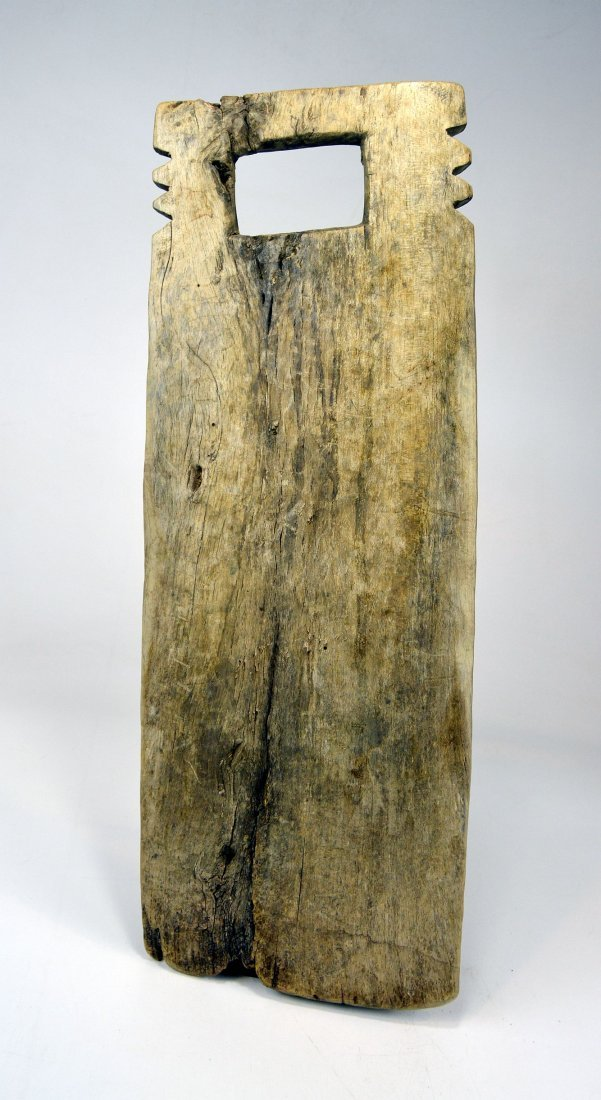Two Antique African Washboards, African Form - 6