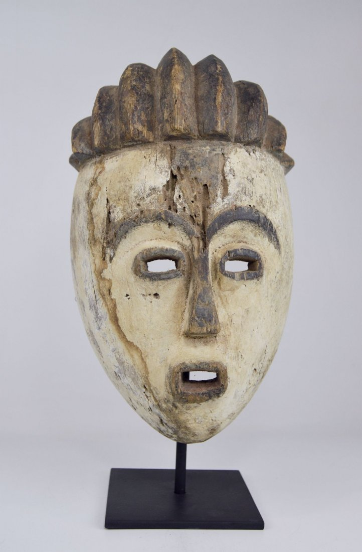 Old Kwese Dance Mask, African Art