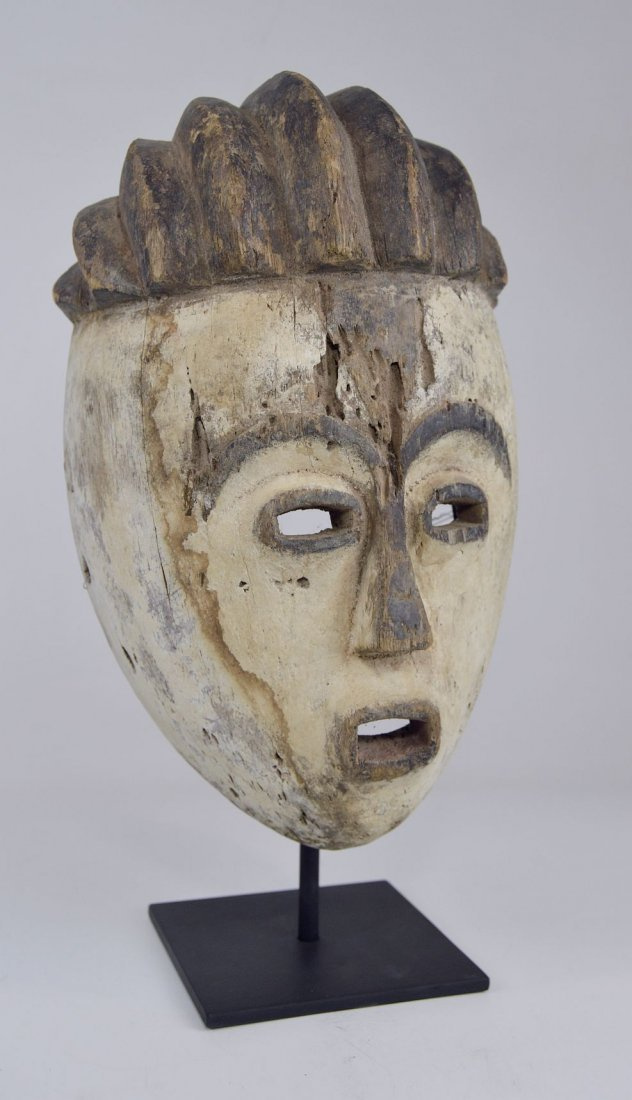 Old Kwese Dance Mask, African Art - 2