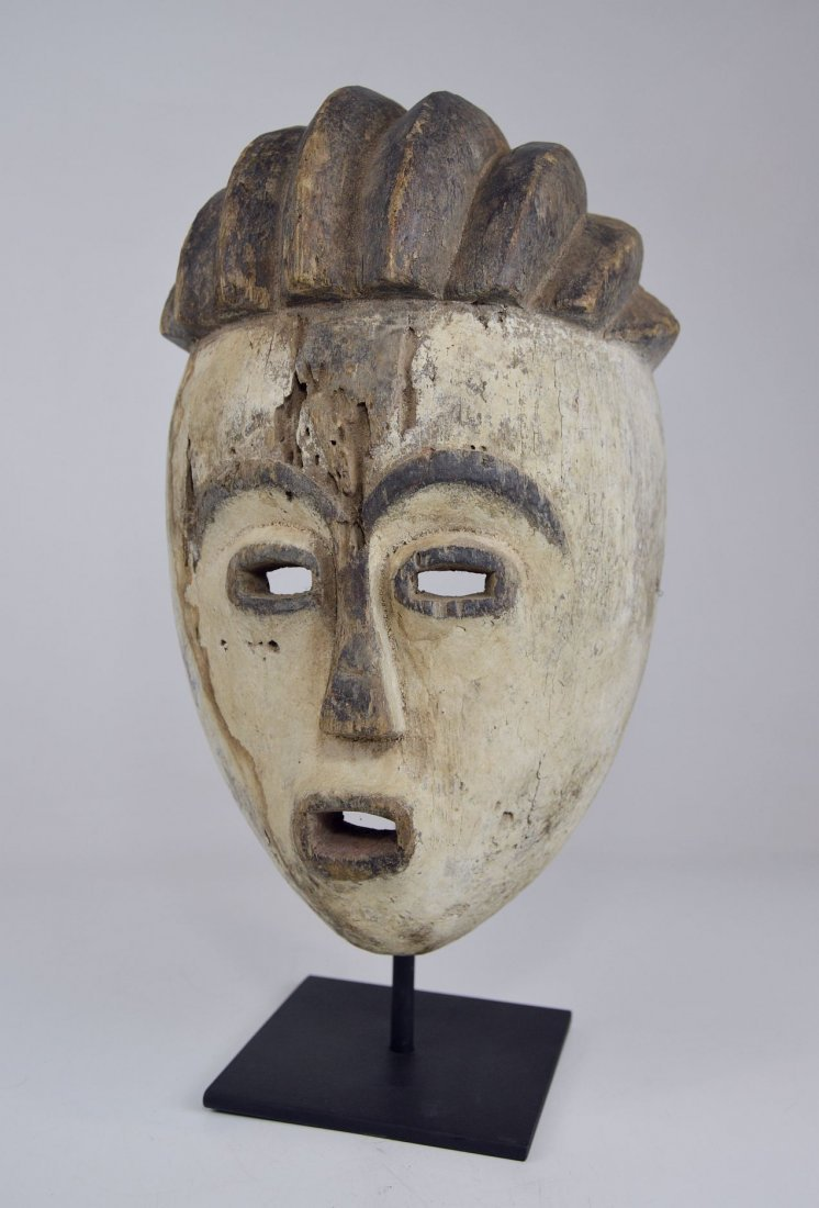 Old Kwese Dance Mask, African Art - 3