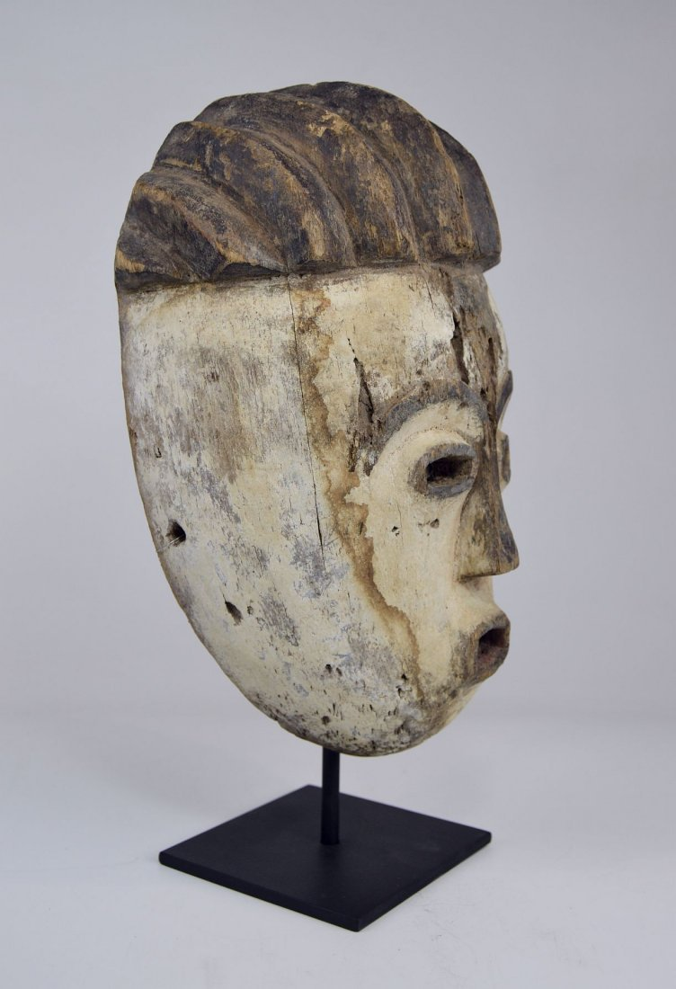 Old Kwese Dance Mask, African Art - 4