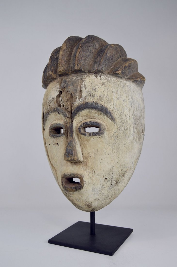 Old Kwese Dance Mask, African Art - 6