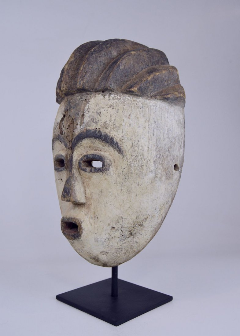 Old Kwese Dance Mask, African Art - 9