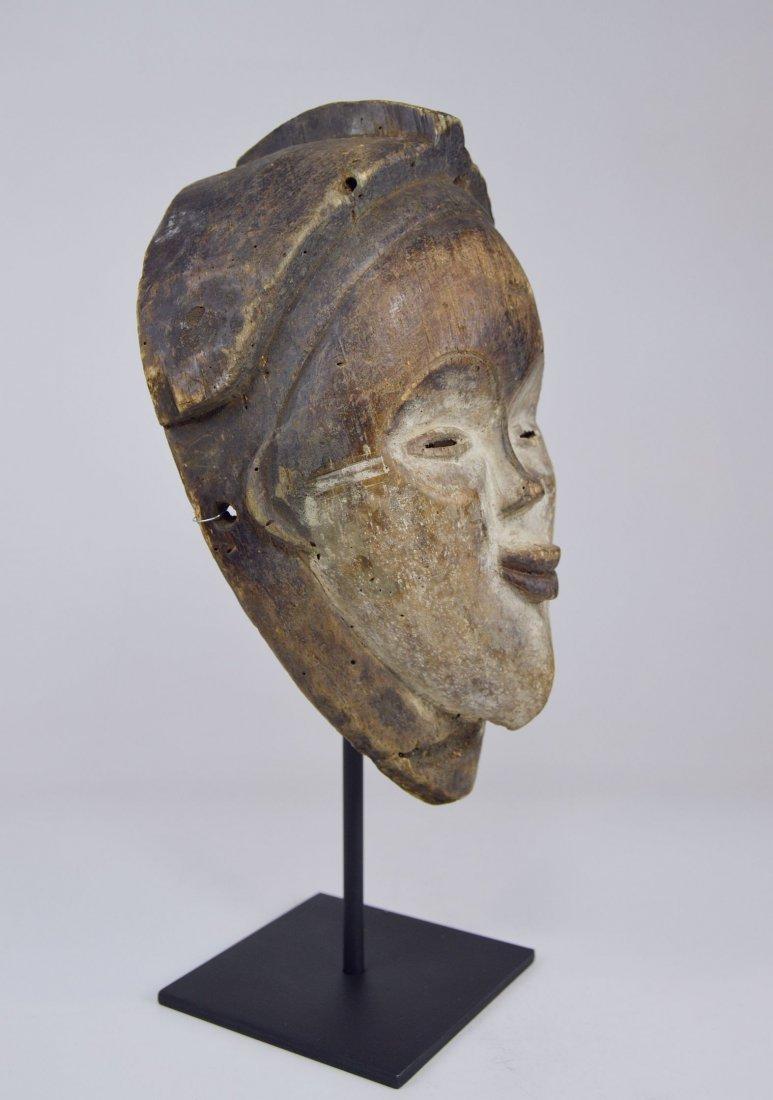 Old Punu Dance mask, African Art - 4
