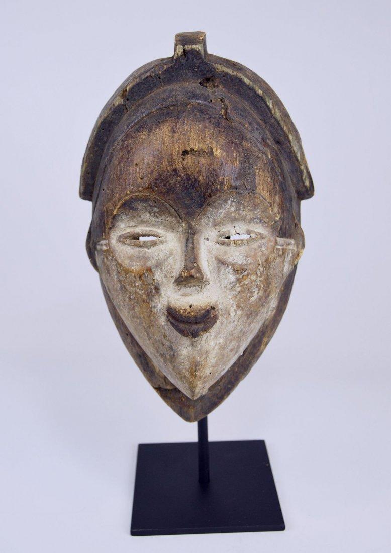 Old Punu Dance mask, African Art - 7