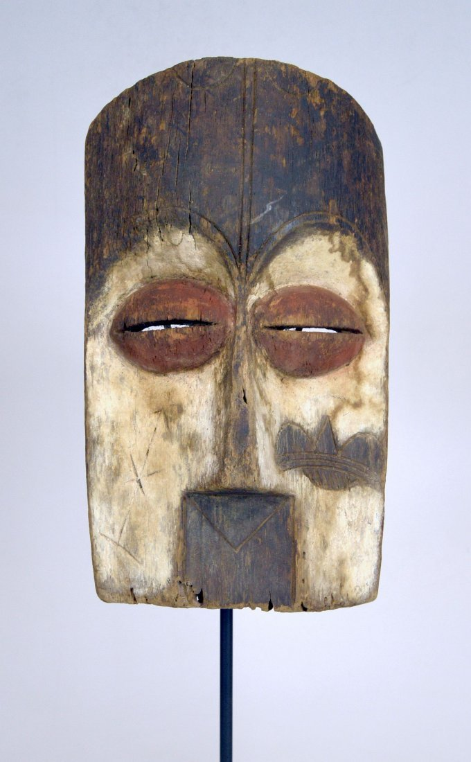 Archaic old Vuvi African Mask - 3