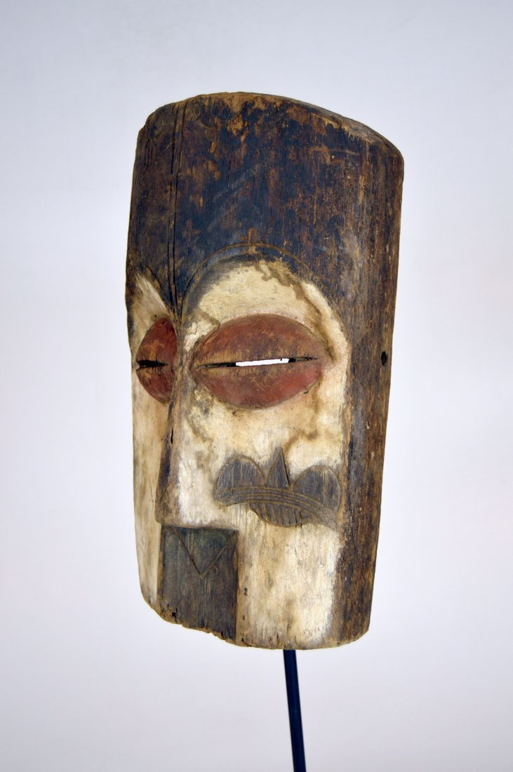 Archaic old Vuvi African Mask - 4
