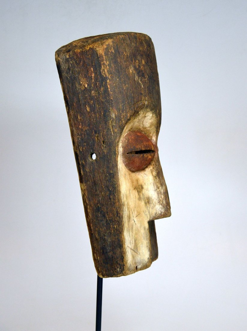 Archaic old Vuvi African Mask - 6