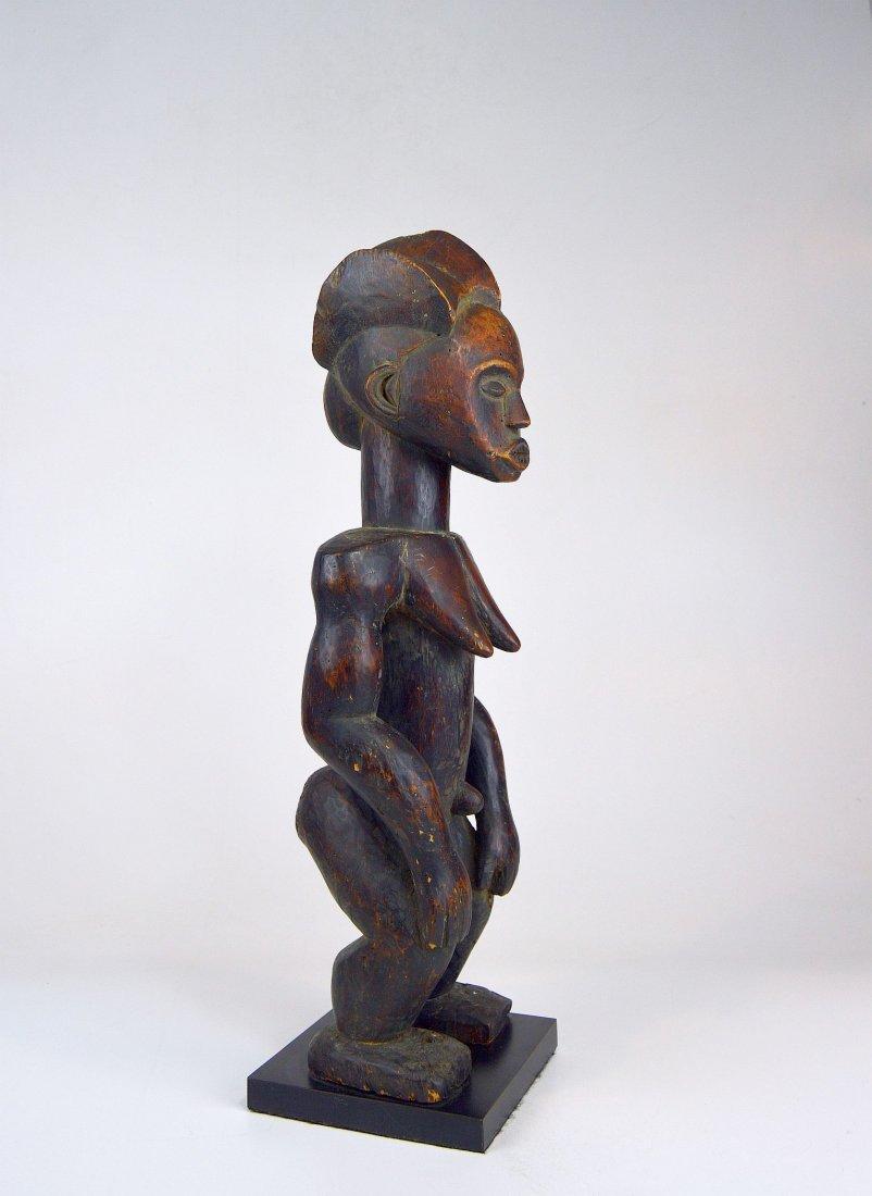 A Vintage Fang Byeri Female sculpture, African Art - 4