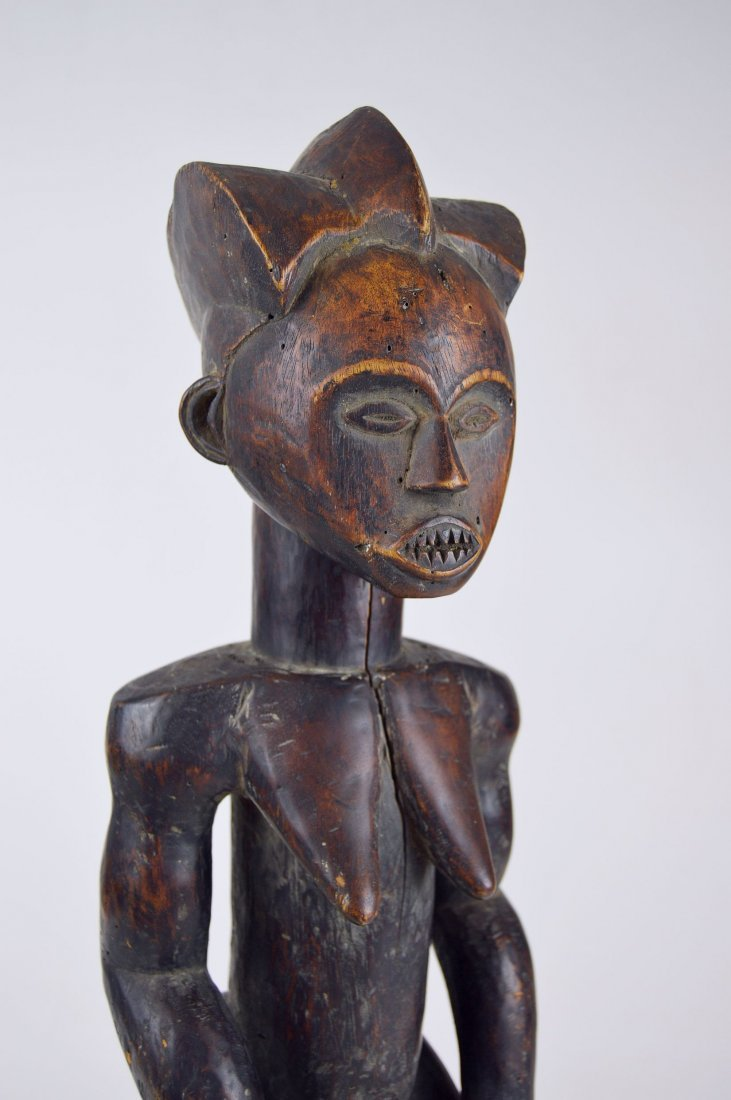A Vintage Fang Byeri Female sculpture, African Art - 7