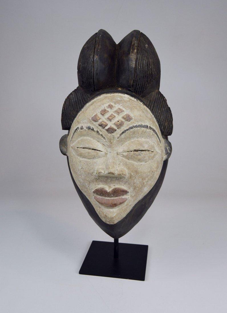 A Sweet & Serene Punu African Dance mask