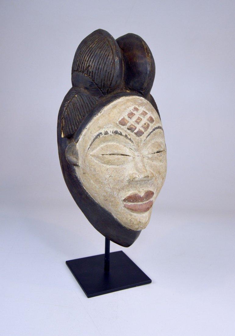 A Sweet & Serene Punu African Dance mask - 2