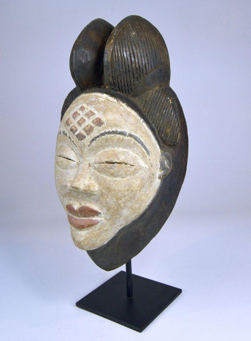 A Sweet & Serene Punu African Dance mask - 3