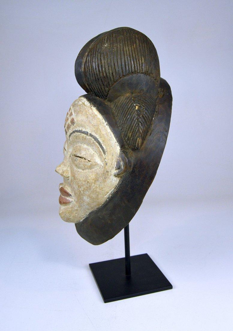 A Sweet & Serene Punu African Dance mask - 4