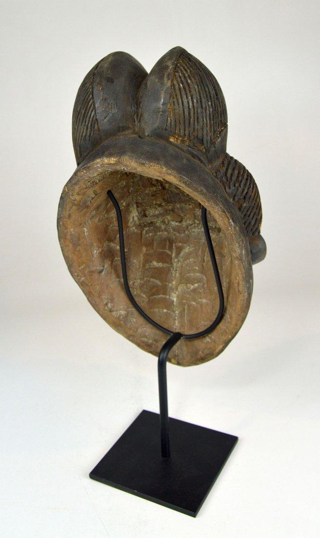 A Sweet & Serene Punu African Dance mask - 5