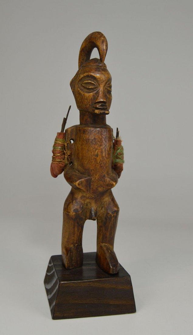 A Yaka magic fetish sculpture, African Art - 4