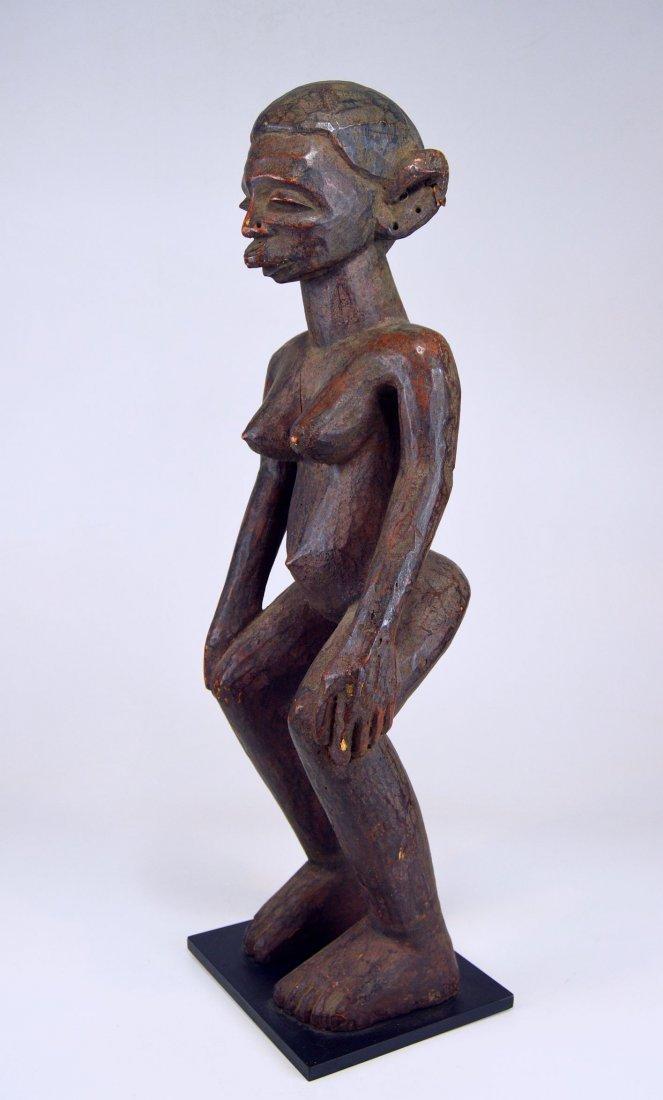 A Very Fine Old Makonde female ancestor sculpture