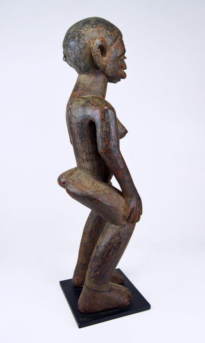 A Very Fine Old Makonde female ancestor sculpture - 5