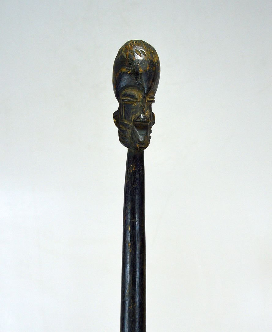 Old West African walking stick, Possibly Fang peoples - 3