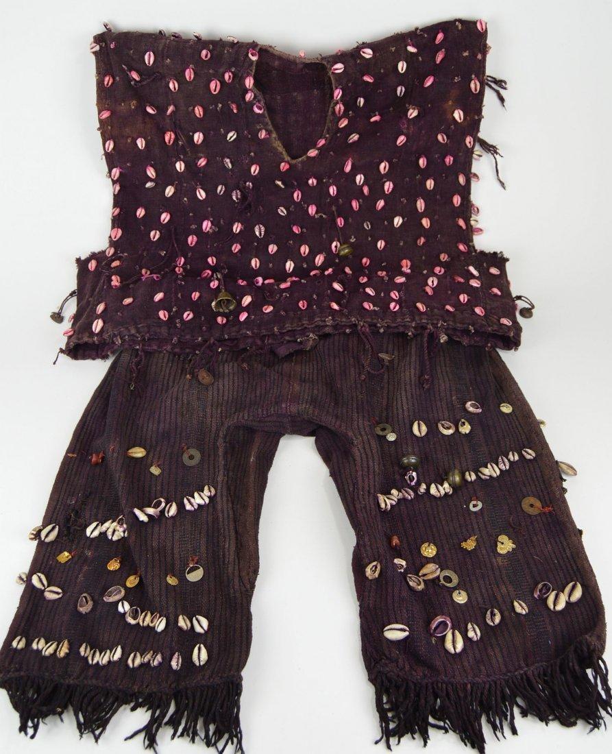 Bambara Hunters Shirt & Pants Magic Charms African Art