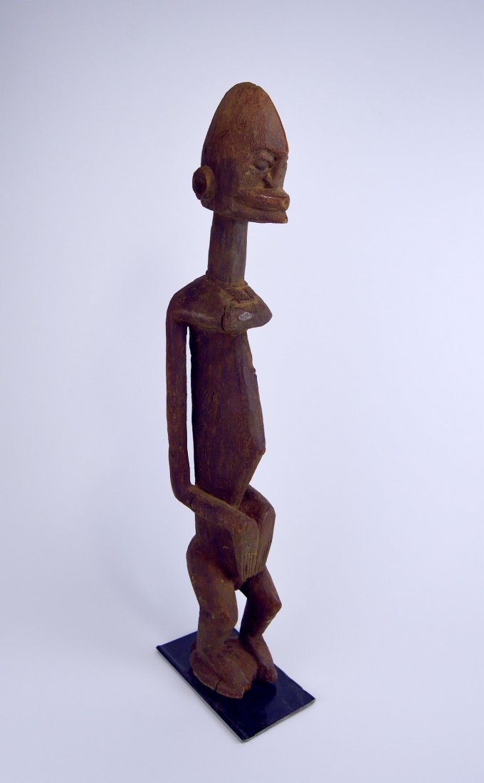 Tall Dogon Ancestor w/ Stylized face African Art