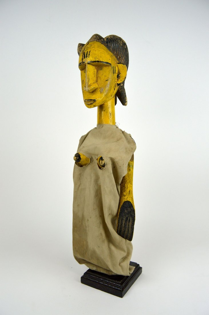 A Wonderful Old Bozo Female Marionette, African Art