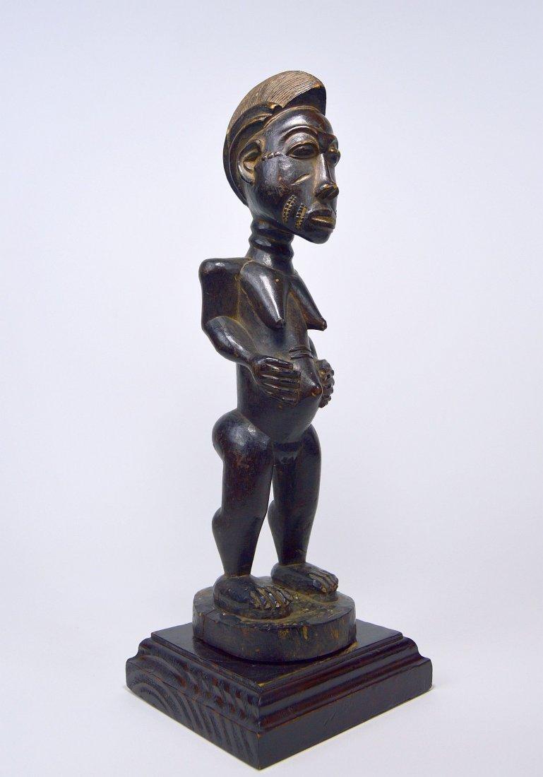 A Fine Baule Female Statue, African Tribal Art