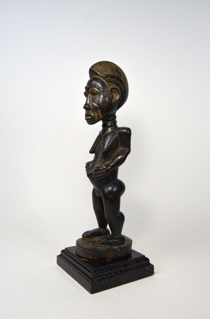 A Fine Baule Female Statue, African Tribal Art - 2