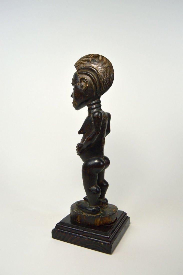 A Fine Baule Female Statue, African Tribal Art - 3