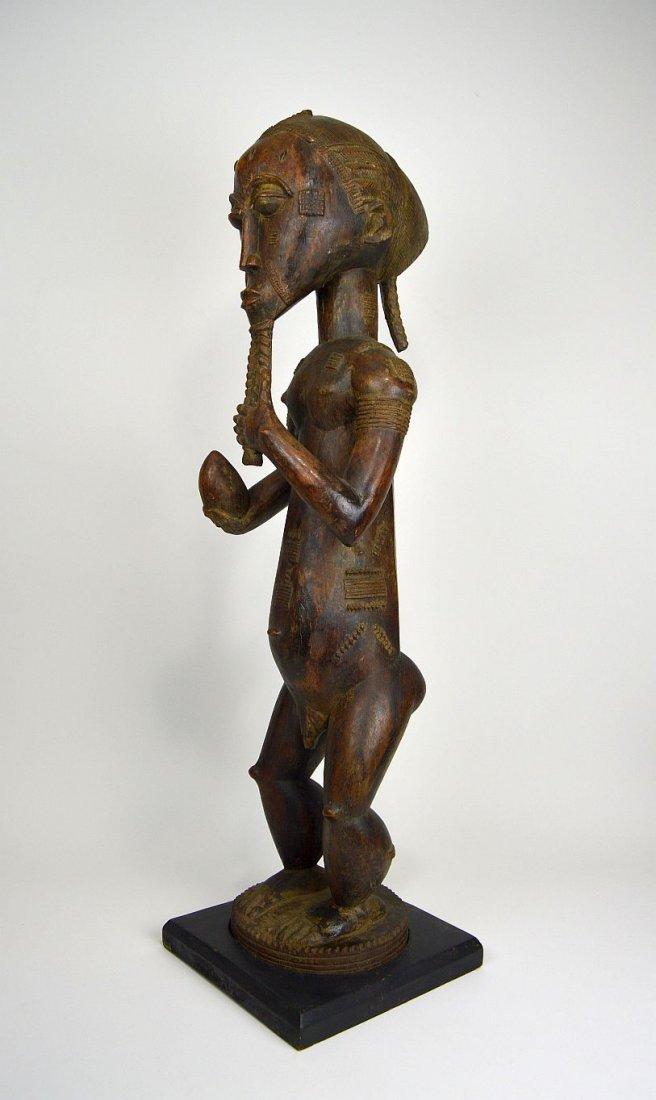 Large Baule Male sculpture, African Tribal Art
