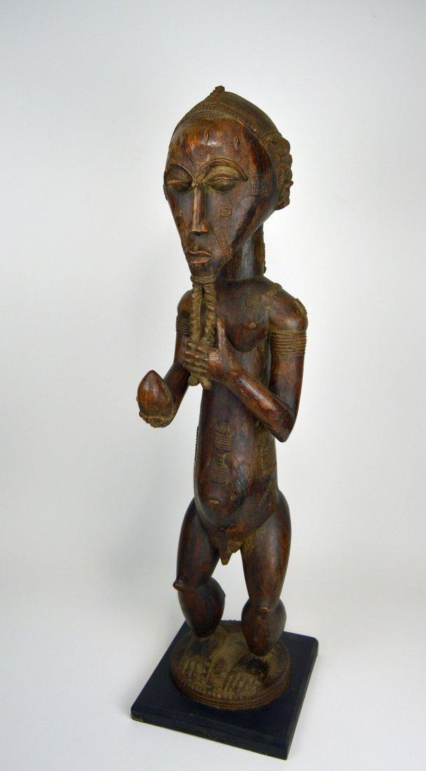 Large Baule Male sculpture, African Tribal Art - 9