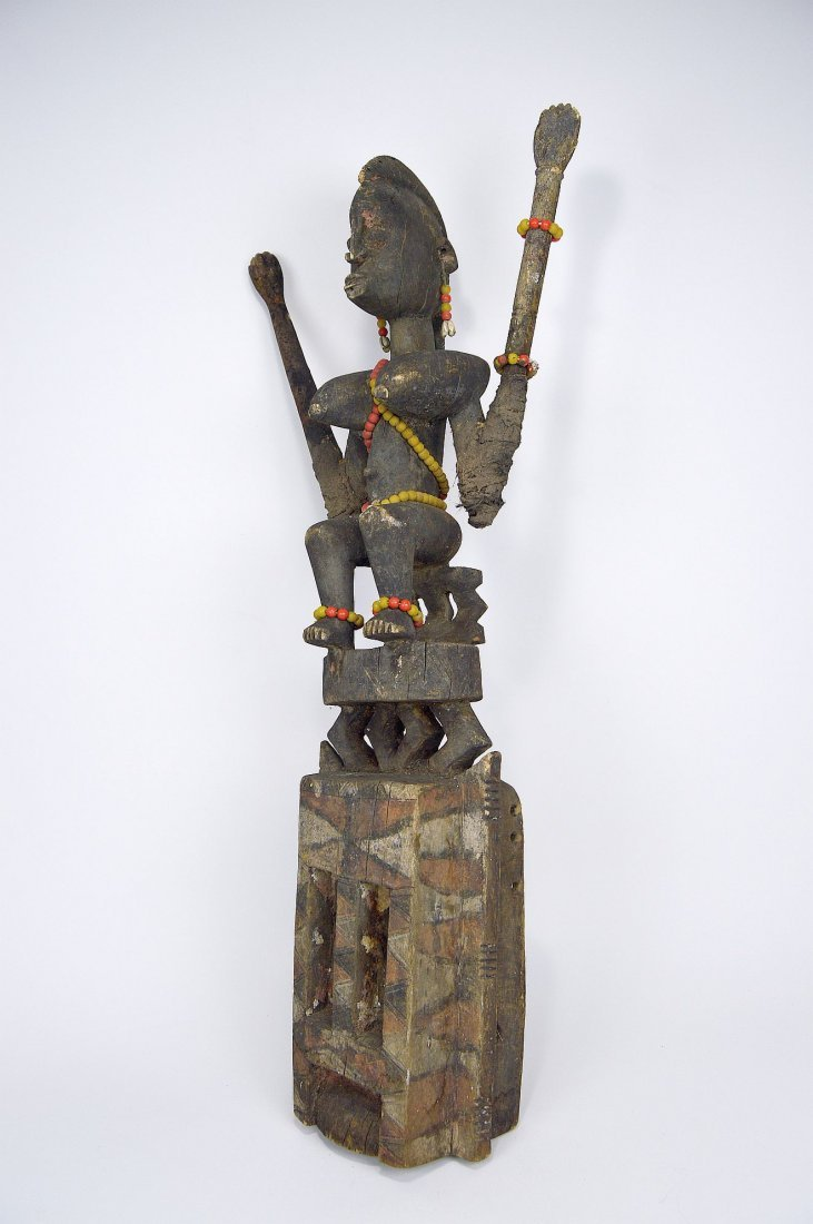 Dogon Satimbe African Mask, African Art - 2