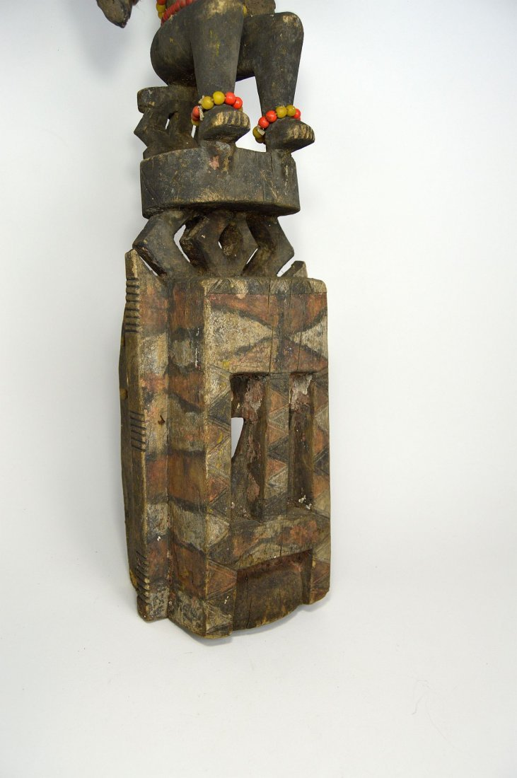 Dogon Satimbe African Mask, African Art - 4