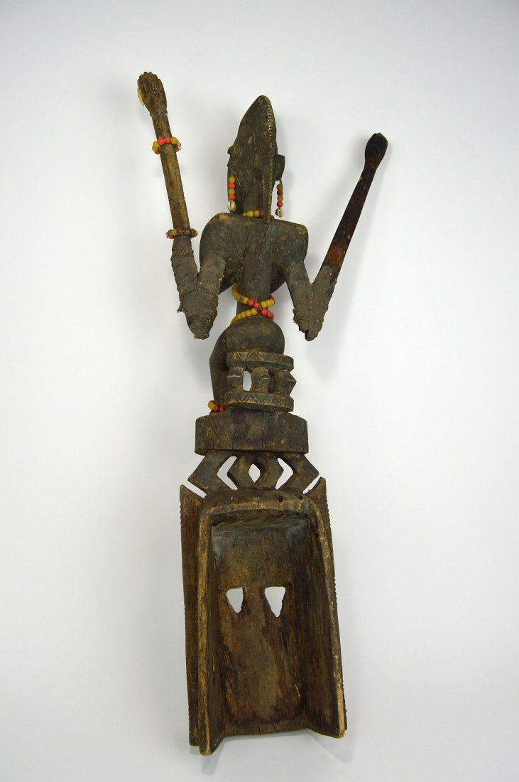 Dogon Satimbe African Mask, African Art - 5