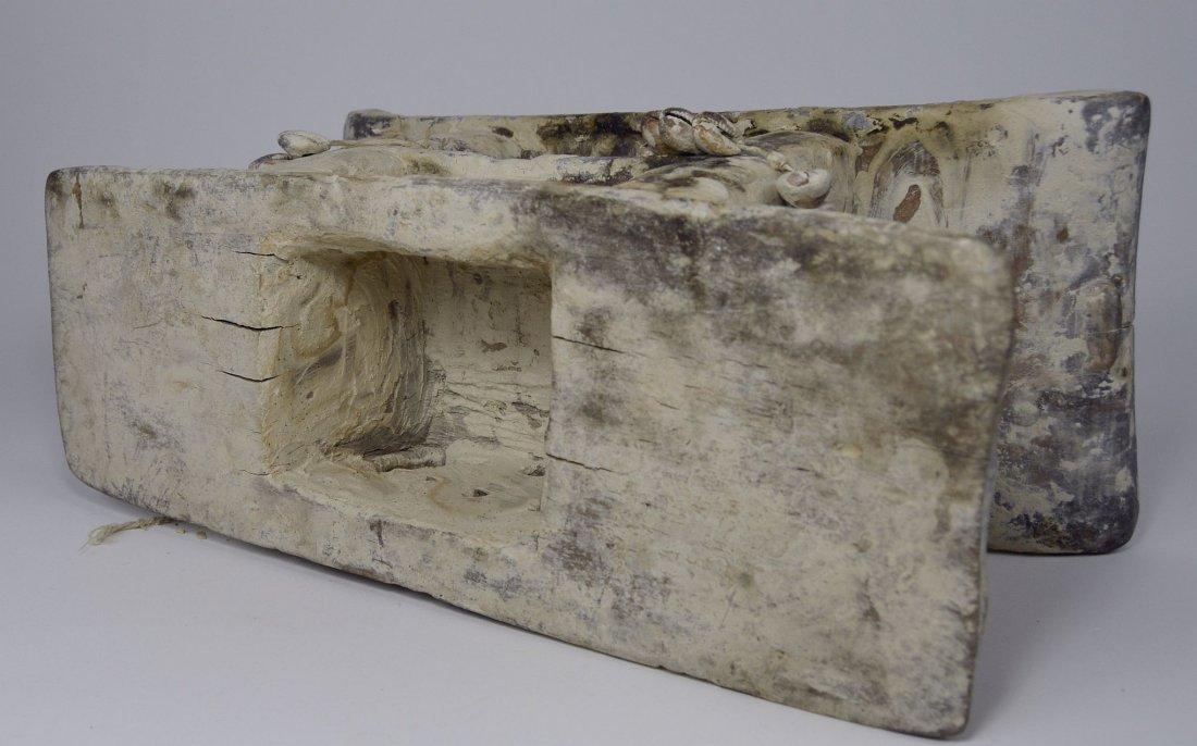 Authentic Old Ashanti Shrine stool for the Spirits - 5