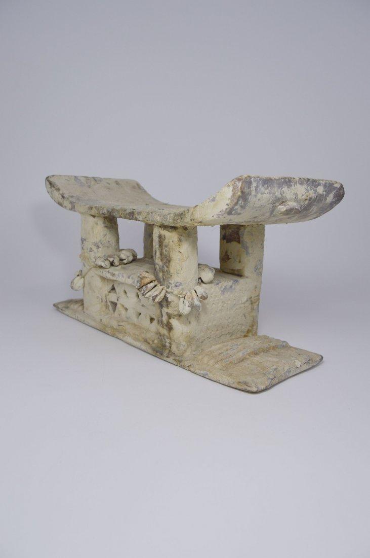 Authentic Old Ashanti Shrine stool for the Spirits - 9
