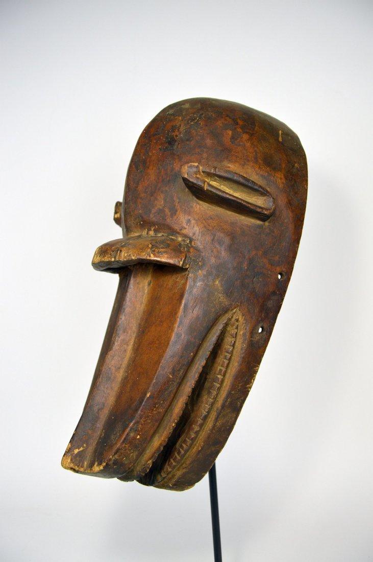 Old Bambara Hyena Mask, African Art - 2