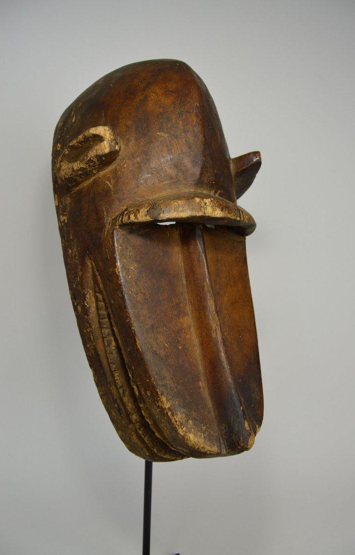 Old Bambara Hyena Mask, African Art - 3
